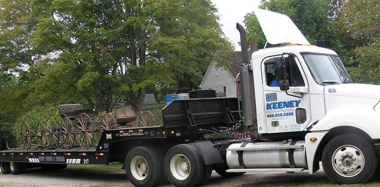 Connecticut Rigging and Trucking services 9
